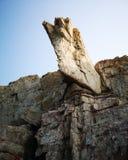 A Rock in the Shape of an Axe stock photos