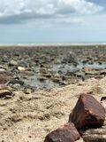 Rock, Shore, Sea, Sky royalty free stock image