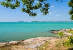 Rock shore, Thailand Stock Photos