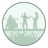 Rock show Stock Photo