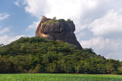 Rock of Sigiriya Stock Photography