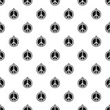 Rock sign pattern vector Royalty Free Stock Image