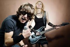 Rock Singer Stock Photos