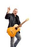 Rock singer Royalty Free Stock Image