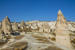 Rock Sites of Cappadocia Stock Images