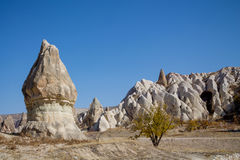 Rock Sites of Cappadocia Stock Image