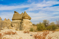 Rock Sites of Cappadocia, Kapadokya, Turkey Royalty Free Stock Images