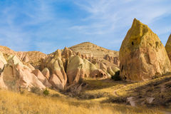 Rock Sites of Cappadocia, Kapadokya, Turkey Royalty Free Stock Image