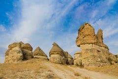 Rock Sites of Cappadocia, Kapadokya, Turkey Stock Images