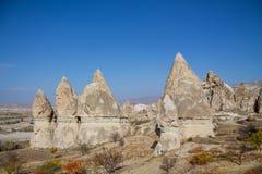 Rock Sites of Cappadocia, Turkey Stock Photo