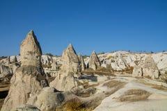 Rock Sites of Cappadocia, Turkey royalty free stock photos