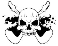 Rock skull Royalty Free Stock Images