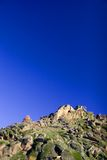 Rock and sky royalty free stock photography