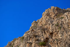 Rock and sky. Stock Photo