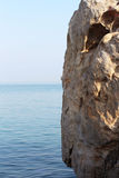 Rock ,sky and sea scape Stock Image