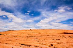 Rock and Sky. The Valley of Fire State Park outside of Las Vegas Nevada Stock Photography