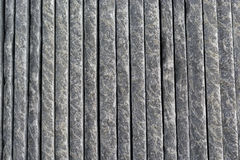Rock slates dark grey cutted Royalty Free Stock Images