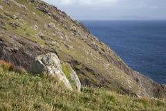Rock on Slea Head, Dingle Peninsula Royalty Free Stock Images