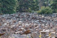 Rock slide Stock Images