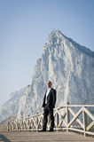 Rock Solid Business Man Royalty Free Stock Image