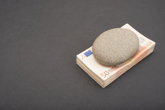 Rock solid investment Royalty Free Stock Photo