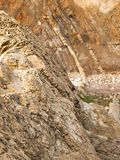 Rock som snidas av naturen Royaltyfri Fotografi