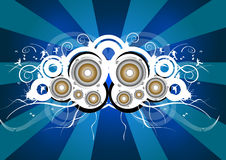 Rock speaker Stock Images