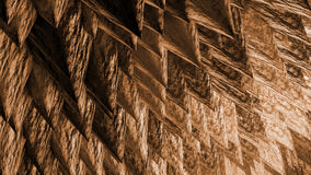 Rock Spikes abstract background Stock Images
