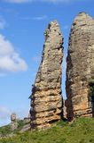 Rock spire Stock Images