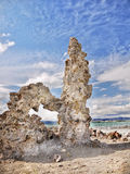 Rock Spires, Mono Lake, California. Bizarre rock spires formation, Mono Lake, California Stock Photos