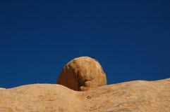 Rock at Spitzkoppe (Namibia) royalty free stock photo
