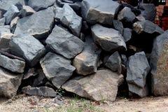 Rock split Stock Photos