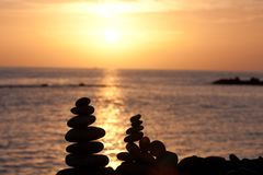 Rock stack Royalty Free Stock Photo