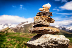 Rock stack Royalty Free Stock Images