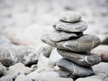 Rock stack Stock Photo