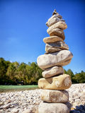 Rock stack Stock Image