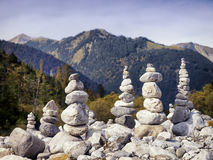 Rock stacks Stock Image