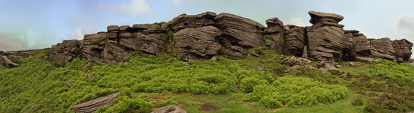 Rock Stacks in Countryside Royalty Free Stock Photography