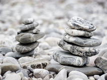 Rock stacks Royalty Free Stock Photography