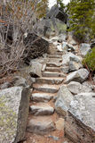 Rock Staircase Royalty Free Stock Photos