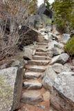 Rock Staircase Royalty Free Stock Photos