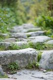 Rock stairs Stock Photography