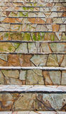 Rock stairs Royalty Free Stock Images