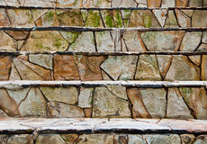 Rock stairs Royalty Free Stock Photography