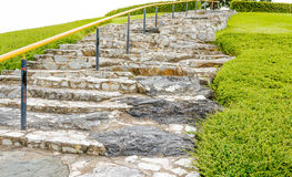 Rock stairs Stock Photo