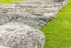 rock stairs Royalty Free Stock Photo