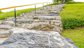 rock stairs Royalty Free Stock Photos