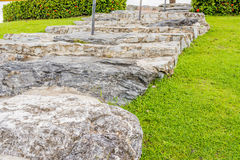rock stairs Stock Image