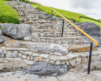 Rock stairs Stock Photo