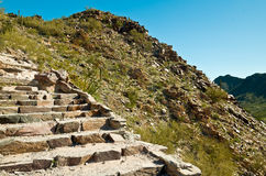 Rock Stairway Royalty Free Stock Photography